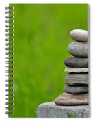 Piled Stones Spiral Notebook