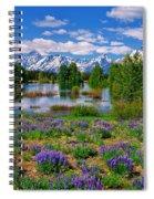 Pilgrim Creek Wildflowers Spiral Notebook