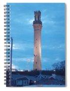 Pilgrim Tower Spiral Notebook