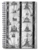 Pilgrims' Map, C1250 Spiral Notebook