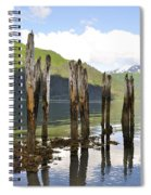 Pilings Spiral Notebook