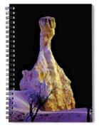Pillar Of Gold - Bryce Canyon Spiral Notebook