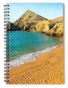 Pilon De Azucar Beach Spiral Notebook