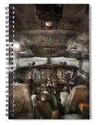 Pilot - Boeing 707  - Cockpit - We Need A Pilot Or Two Spiral Notebook
