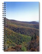Pilot Mountain Near Balsam Grove Spiral Notebook