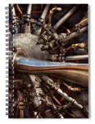 Pilot - Plane - Engines At The Ready  Spiral Notebook