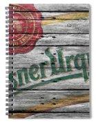 Pilsner Urquell Spiral Notebook
