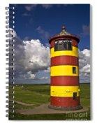 Pilsum Lighthouse Spiral Notebook
