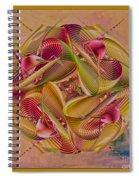Pin Stripe City Spiral Notebook