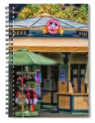 Pin Traders Downtown Disneyland 02 Spiral Notebook