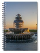 Magical Fountain Spiral Notebook