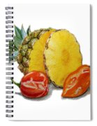 Pineapple Habanero Muy Caliente   Spiral Notebook