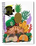 Pineapple Reef Spiral Notebook