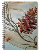 Pinecone Spiral Notebook