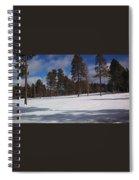 Pinetop Snowfall Spiral Notebook