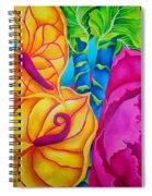 Pingk2 Spiral Notebook