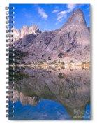 Pingora Peak On Lonesome Lake Spiral Notebook