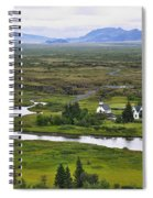 Pingvellir National Park Spiral Notebook
