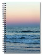 Pink And Blue Sky Spiral Notebook