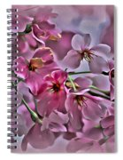 Pink Blossoms - Paint Spiral Notebook
