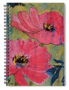 Pink Blossoms Spiral Notebook