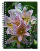 Pink Bridal Bouquet Spiral Notebook