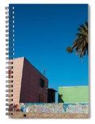 Pink Building In Historic Neighborhood Spiral Notebook