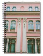 Pink Building Spiral Notebook