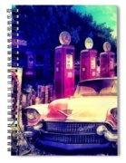 Pink Cadillac Spiral Notebook