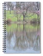 Pink Cherry Reflections Spiral Notebook