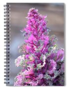 Pink Coned Cabbage Spiral Notebook