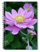 Pink Dancer  Spiral Notebook