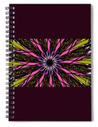 Pink Explosion Spiral Notebook