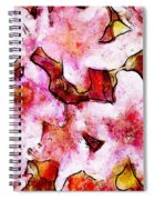 Pink Flowers 2 Spiral Notebook