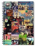 Pink Floyd Collage II Spiral Notebook