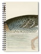 Pink Footed Goose Spiral Notebook