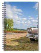 Pink Ford Edsel  Spiral Notebook