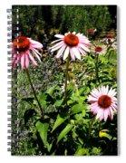 Pink Garden Spiral Notebook