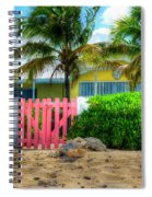 Pink Gate Spiral Notebook