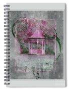 Pink Gazebo Spiral Notebook