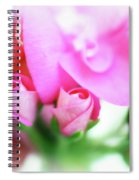 Pink Geranium Spiral Notebook