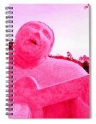 Pink Guitarist Spiral Notebook
