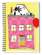 Pink House Spiral Notebook