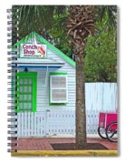 Pink Lady And The Conch Shop  Spiral Notebook