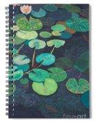 Pink Lilies Spiral Notebook