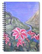 Pink Lillies Spiral Notebook