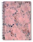Pink Marble Spiral Notebook