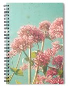 Pink Milkweed Spiral Notebook