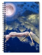 Pink Moon Spiral Notebook