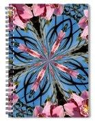 Pink Orchid Kaleidoscope 2 Spiral Notebook